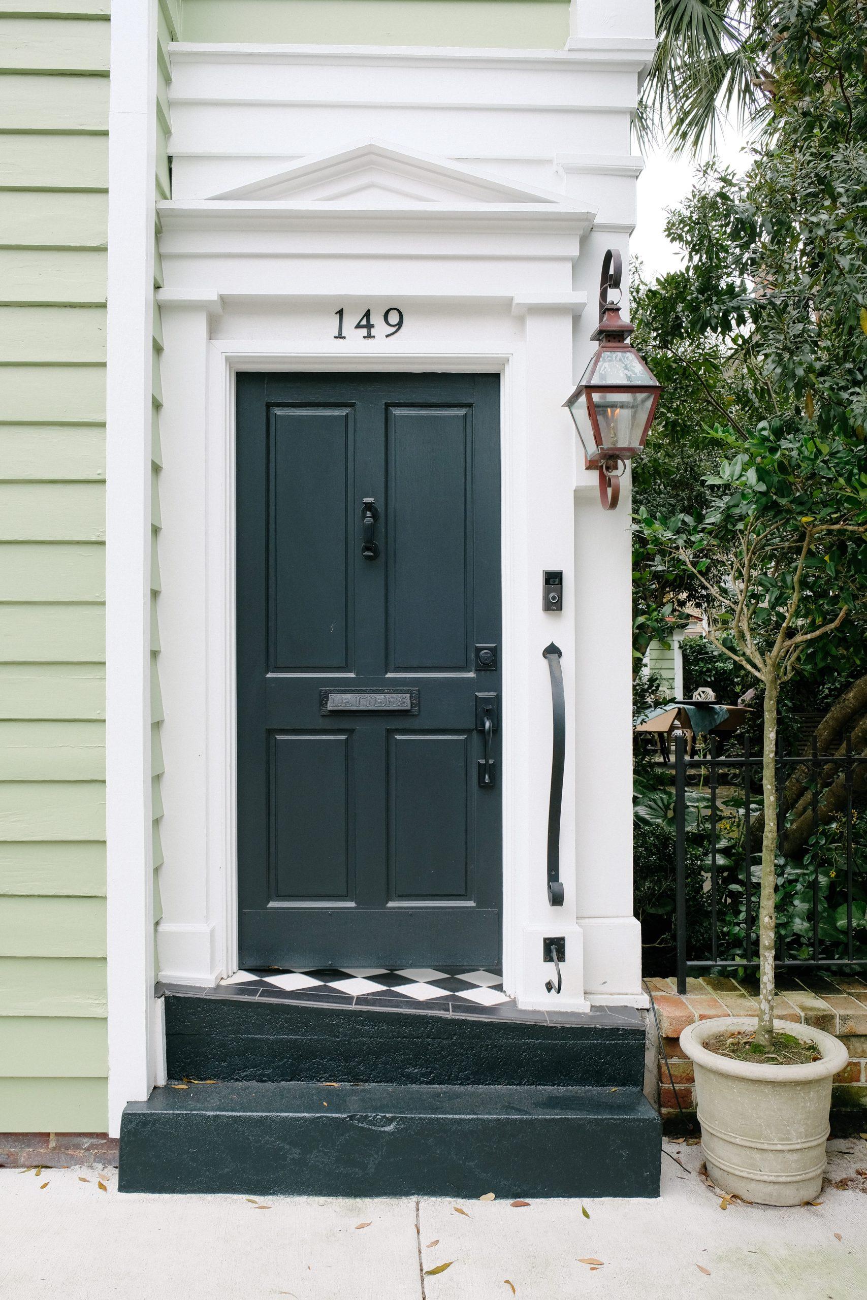 drzwi antracytowe